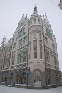 gebouwen in art deco stijl